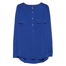 Buy Mango Flowy Pocket Blouse Online at johnlewis.com