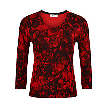 Buy Precis Petite Rose Printed Jumper, Multi Dark Online at johnlewis.com