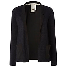 Buy White Stuff Sparkle Knit Blazer, Dark Sakura Online at johnlewis.com