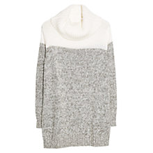 Buy Violeta by Mango Contrast Flecked Jumper Online at johnlewis.com