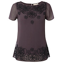 Buy White Stuff Geisha Top, Dewberry Online at johnlewis.com