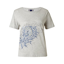 Buy Jigsaw William Morris Tulip Top, Grey Online at johnlewis.com