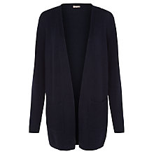 Buy Planet Textured Cardigan, Navy Online at johnlewis.com