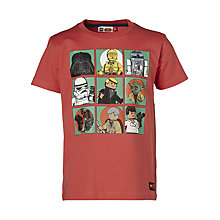 Buy LEGO Star Wars Heroes Grid T-Shirt Online at johnlewis.com
