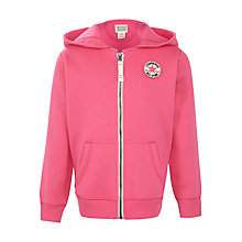 Buy Converse Girls' Hoodie, Pink Online at johnlewis.com