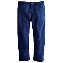 Buy Little Joule Boys' Rafe Trousers, Navy Online at johnlewis.com