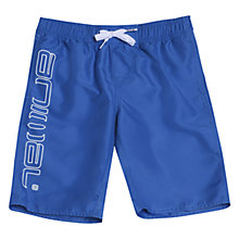 Buy Animal Boys' Tannar Swim Shorts, Blue Online at johnlewis.com
