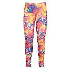 Buy Converse Girls' Explosion Print Skinny Leggings, Multi Online at johnlewis.com