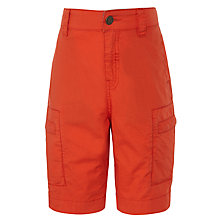 John Lewis Boy Inseam Cargo Shorts, Red, £14.00 - £16.00