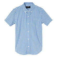 Buy Mango Kids Boys' Gingham Check Shirt Online at johnlewis.com
