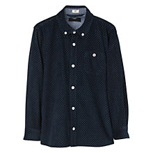 Buy Mango Kids Boys' Polka Dot Cord Shirt Online at johnlewis.com