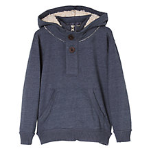 Buy Mango Kids Boys' Faux Fur Lined Hoodie Online at johnlewis.com