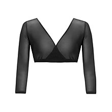 Buy Gina Bacconi Stretch Mesh Undergarment Top, Black Online at johnlewis.com