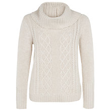 Buy Kaliko Cable Knit Jumper, Oatmeal Online at johnlewis.com