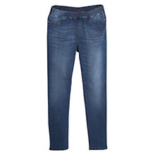 Buy Violeta by Mango Medium Wash Distressed Jeggings, Medium Blue Online at johnlewis.com