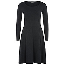 Buy Kaliko Knitted Dress, Charcoal Online at johnlewis.com