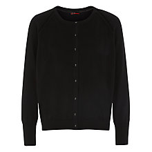 Buy Kaliko Knitted Cardigan, Black Online at johnlewis.com