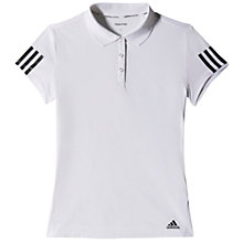 Buy Adidas Tennis Response Traditional Polo Shirt, White Online at johnlewis.com