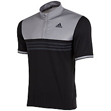 Buy Adidas Response Short Sleeve Tour Cycling Jersey, Black/Solid Grey Online at johnlewis.com