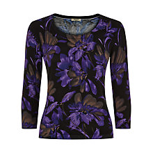 Buy Precis Petite Floral Print Jumper, Multi Dark Online at johnlewis.com