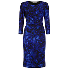 Buy Precis Petite Rose Print Dress, Multi Blue Online at johnlewis.com
