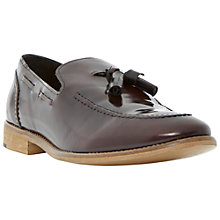 Buy Bertie Royalty Apron Detail Tassel Leather Loafers Online at johnlewis.com