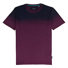 Buy Ted Baker Visklo Crew Neck T-Shirt, Purple Online at johnlewis.com