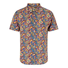 Buy Pretty Green Vintage Paisley Cotton Shirt, Multi Online at johnlewis.com