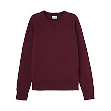 Buy Jigsaw Athletic Cotton Sweatshirt Online at johnlewis.com