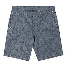 Buy Pretty Green Paisley Print Shorts, Navy Online at johnlewis.com