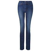 "Buy Levi's Demi Curve Straight Jeans 30"", Justice Online at johnlewis.com"