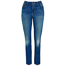 "Buy Levi's Jeans Demi Curve Straight Jeans 32"", Springwater Online at johnlewis.com"