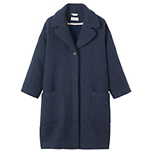 Buy Toast Maki Coat, Navy Online at johnlewis.com