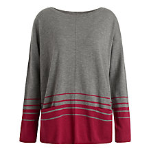 Buy Seasalt Partridge Jumper, Vista Cranberry Online at johnlewis.com