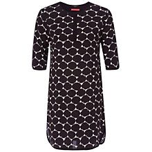 Buy Oui Spot Print Dress, Black Online at johnlewis.com