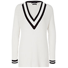 Buy Oui Cricket Jumper, Cream Online at johnlewis.com