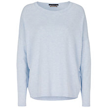 Buy Oui Boxy Knit Jumper, Blue Online at johnlewis.com