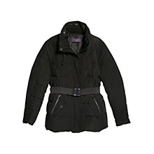 Buy Violeta by Mango Hooded Feather Down Coat Online at johnlewis.com