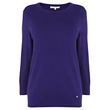 Buy Wishbone Zara Knit Jumper, Mid Purple Online at johnlewis.com