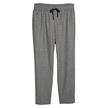 Buy Violeta by Mango Check Wool Blend Trousers, Grey Online at johnlewis.com