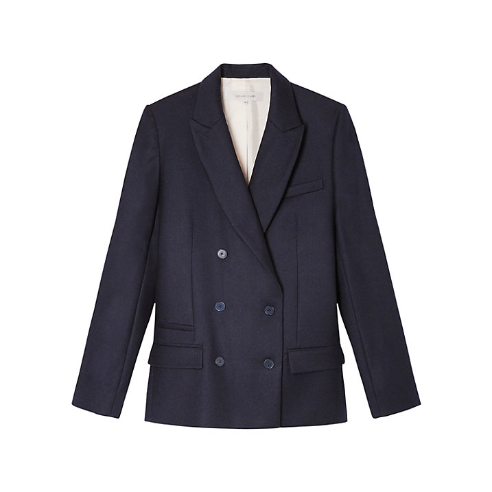 Buy Gerard Darel Valence Jacket, Marine, 8 Online at johnlewis.com