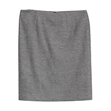 Buy Violeta by Mango Wool Blend Pencil Skirt, Medium Grey Online at johnlewis.com