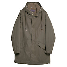 Buy Violeta by Mango Detachable Lining Parka, Beige/Khaki Online at johnlewis.com