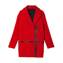 Buy Gerard Darel Camille Coat, Red Online at johnlewis.com