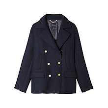Buy Gerard Darel Clarisse Coat, Dark Blue Online at johnlewis.com