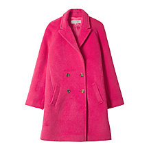 Buy Gérard Darel Caro Coat, Fuchsia Online at johnlewis.com