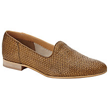 Buy Somerset by Alice Temperley Darlene Raffia Shoes, Tan Online at johnlewis.com