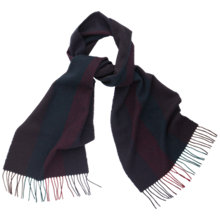 Buy Thomas Pink Colour Block Scarf, Orange/Green Online at johnlewis.com