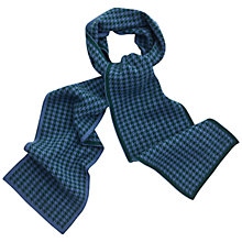 Buy Thomas Pink Dogtooth Cashmere Scarf Online at johnlewis.com