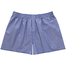 Buy Thomas Pink Falcon Stripe Boxers, Navy/White Online at johnlewis.com